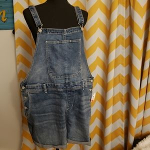 Jean shorts overall